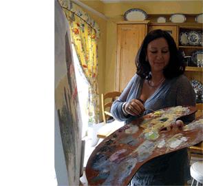 Susan Chester Fine Art, Susan Painting