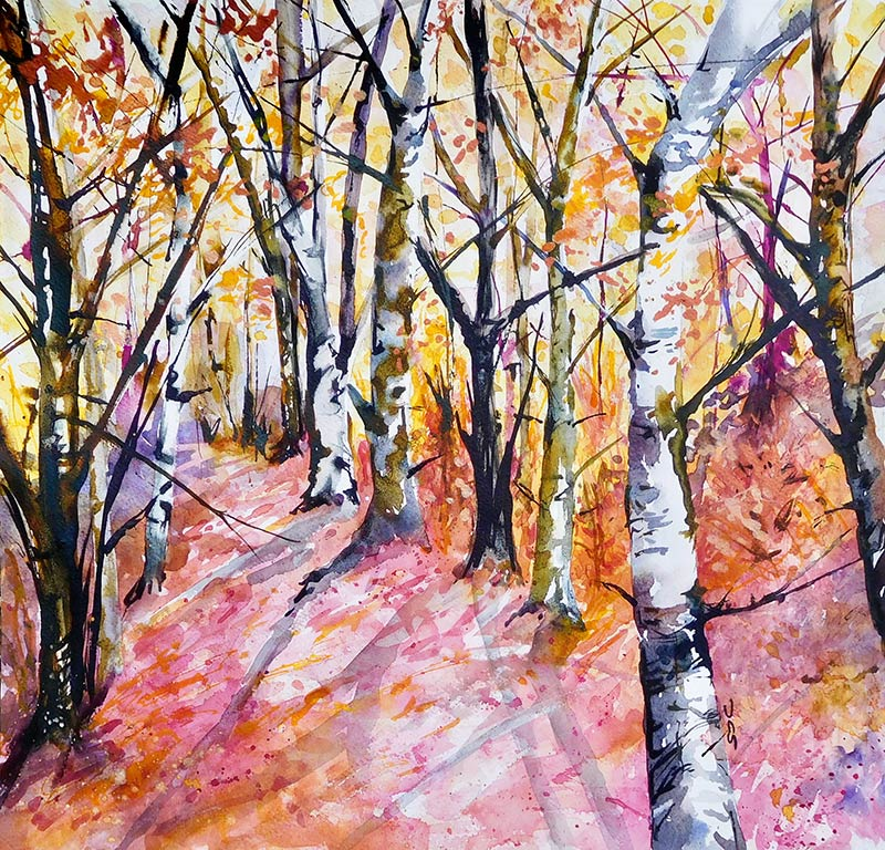 Watercolour  SOLD